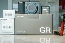 Ricoh GR III Digital Camera - Black 24.2 Including Many Many Extras