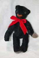 LOVELY HANDCRATED OOAK TEDDY BEARS - made in 1997 from grandma's coats - Vintage