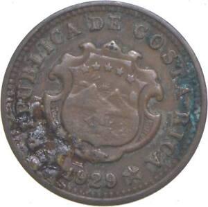 Better - 1929 Costa Rica 5 Centimos *172