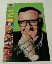 San diego # 0 comic con ,1993 marvel live stan lee
