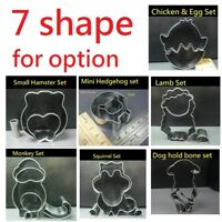 Cute Animals Stainless Steel Cookies Cutters Biscuit Pastry Cake Fondant Mould