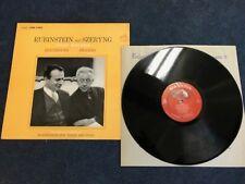 SZERYNG / RUBINSTEIN / BEETHOVEN / BRAHMS Violin Sonatas RCA SD LSC 2620 1s/1s