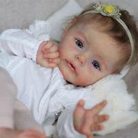 22inch Blank Soft Vinyl DIY Unpainted Reborn Doll Kit Lifelike Poluplar Sue-Sue
