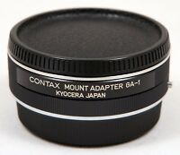 Contax Mount Adapter GA-1 for mounting Contax/Yashica Lenses to G-series Cameras