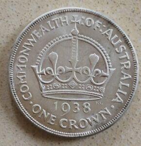 1938 Australian Crown (TOKEN/FILLER) See Description.