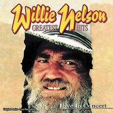 Greatest Hits Live in Concert by Willie Nelson (CD, 1996, Brentwood Records)