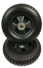 """Set (2) 8-1/2"""" Tire Wheel 2.50-4 For Cart Generator Grill Wagon Pressure Washer"""