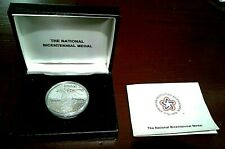 SILVER NATIONAL BICENTENNIAL MEDAL from U.S. MINT