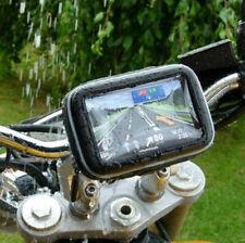 """1* 4.3"""" GPS Sat Nav Waterproof Case With Mount Holder Motorcycle Motorbike Cycle"""