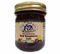 Red Raspberry Amish Jam - 9 oz - 2 Jars