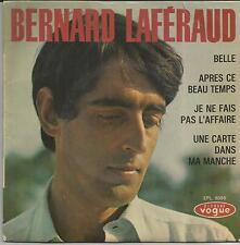 BERNARD LAFERAUD Belle EP VOGUE 1965