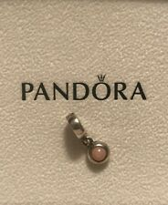 BN RARE RETIRED GENUINE PANDORA PINK OPAL CABOCHON  CHARM - 790537POP