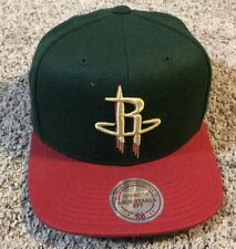 reputable site bb50a d9e7b Mitchell   Ness Houston ROCKETS Hat Cap, NWT, Snapback