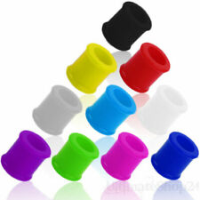Silikon Flesh Tunnel Plug Ear Soft Tube Piercing Ohr Flexibel Weich Color