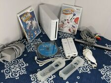 Nintendo Wii Gaming Console Gamecube Compatible White RVL-001 Bundle, 2 Wiimotes