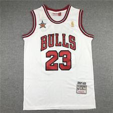 NBA Michael Jordan Mitchell Ness 85 86 Bulls Hardwood road Jersey