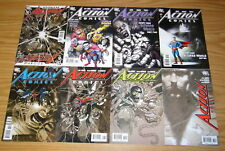 Action Comics #844 845 846 851 855 856 857 & Annual 11 VF/NM richard donner set