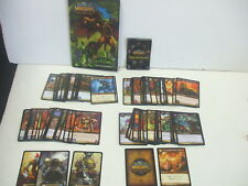 World of Warcraft Trading Card Game Lot of 85 Cards w/ Landro's Gift & More