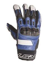 Guantes de color principal azul de palma para motoristas