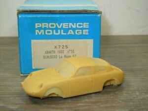 Abarth 1000 Bialbero 1962 - Provence Moulage K712 - 1:43 in Box *51178