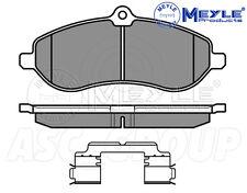 Meyle Brake Pad Set, Front Axle With anti-squeak plate 025 245 9518/W
