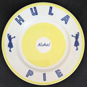 Hula Pie - Aloha - 9 inch Plate - Duke's Restaurant China - Hawaii