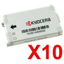 Lot Of 10 Kyocera Txbat10050 Batteries For Kx1 Soho Kx9 Kx9D Oystr Ke434c, Koi