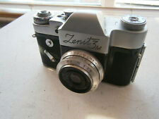 Zenit 3M 35mm Camera + 50mm Industar Lens & Leather Case