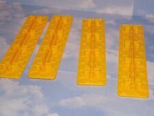 1976 Richard Scarry's Puzzletown  puzzle roof pieces  connectors set of 4