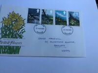 GB FDC 1979 British Flowers, Postmark Leicester 21 March 1979 First Day Cover