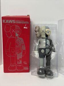 "KAWS Companion Grey Flayed, Vinyl Medicom Toy Figure 14"" 2006 W Red Box"