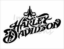 HARLEY DAVIDSON Fancy Script Name Logo 8.5