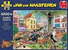 JUMBO JIGSAW PUZZLE GET THAT CAT! JAN VAN HAASTEREN 1000 PCS CARTOON #19056