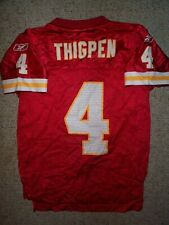 REEBOK Kansas City Chiefs TYLER THIGPEN nfl Jersey YOUTH KIDS BOYS (s-sm-small)