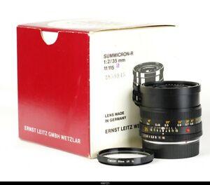 Lens Leica Summicron R  2/35mm  11115 for Camera Leica R Mint Box