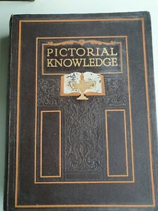 1933 PICTORIAL KNOWLEDGE BOOK VOLUME 3 EDITED BY H.A. POLLOCK & ENID BLYTON