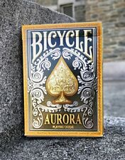 Bicycle Aurora Playing Cards Embossed Gold Tuck Case by The US Playing Card Co.