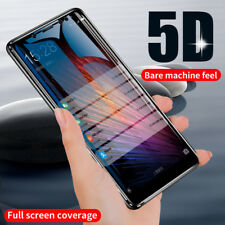 5D Screen Protector Tempered Glass For Xiaomi Redmi Note 4 4X 5A 5 Plus 6 Pro AU