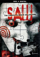 Saw: The Complete Movie Collection (DVD) •NEW •Danny Glover, Halloween