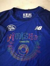 Big Half Finisher's T Shirt Blue Xl New Balance Collectible runner marathon
