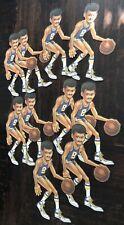 1983 10 African American Basketball Player Cardboard Diecut Die Cut Out Beistle