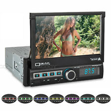 """7"""" 1 DIN Car Stereo MP3 MP5 Player FM Radio USB Bluetooth TF AUX IN Touch Screen"""
