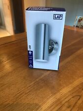 LAP Up/down Outdide Wall Light Brushed Steel New In Box