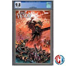 WEB OF VENOM EMPYRE'S END CGC Graded 9.8 PRESALE Marvel Comics 10/14/20