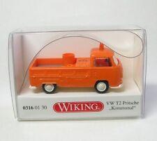 VW T2 Plataforma kommunal (Naranja)