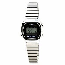 Casio Women's Watch Classic Grey Digital Dial Stainless Steel Bracelet LA670WA-1
