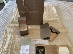 BVLGARI B.ZERO1 One-band Ring 18ct White Gold Size 54, Full Set