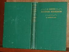 RARE 1913 TRUE 1st Edition A SKEPTIC DISCOVERS MORMONISM by Timberline Riggs LDS