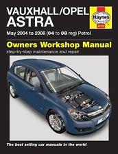 Haynes Owners Workshop Manual Holden Astra Petrol (04-08) SERVICE REPAIR