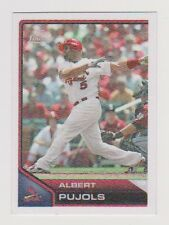 2011 Topps Lineage Cloth Sticker Albert Pujols St. Louis Cardinals